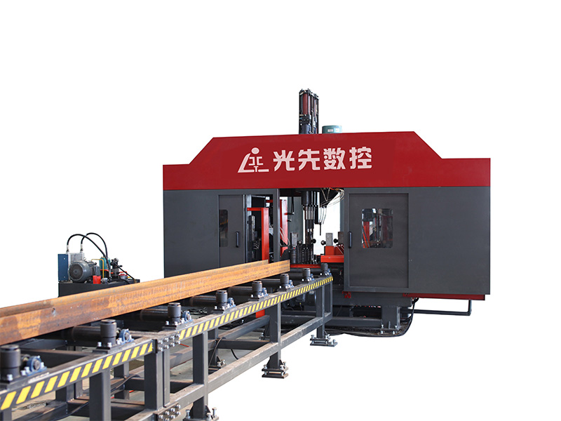 SWZ700 CNC H-shaped steel three-dimensional drilling machine